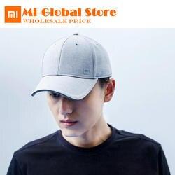 Новые оригинальные xiaomi Бейсбол кепки унисекс простой дизайн поглощения пота Светоотражающие Snapback хип хоп для мужчин и женщин