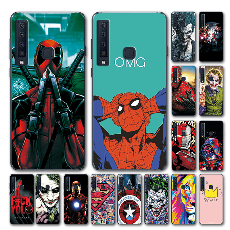 Fitted Cases Youvei Phone Case For Samsung Galaxy A9 2018 Novelty Marvel Avengers Silicone Back Cover For Samsung A9 Pro 2018 Case A920 A9s Limpid In Sight