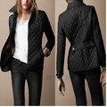 2017 New Brand Jaqueta Feminina Women Spring Jacket Long Sleeve Single Button Slim Fashion Cotton-padded Outerwear Coat