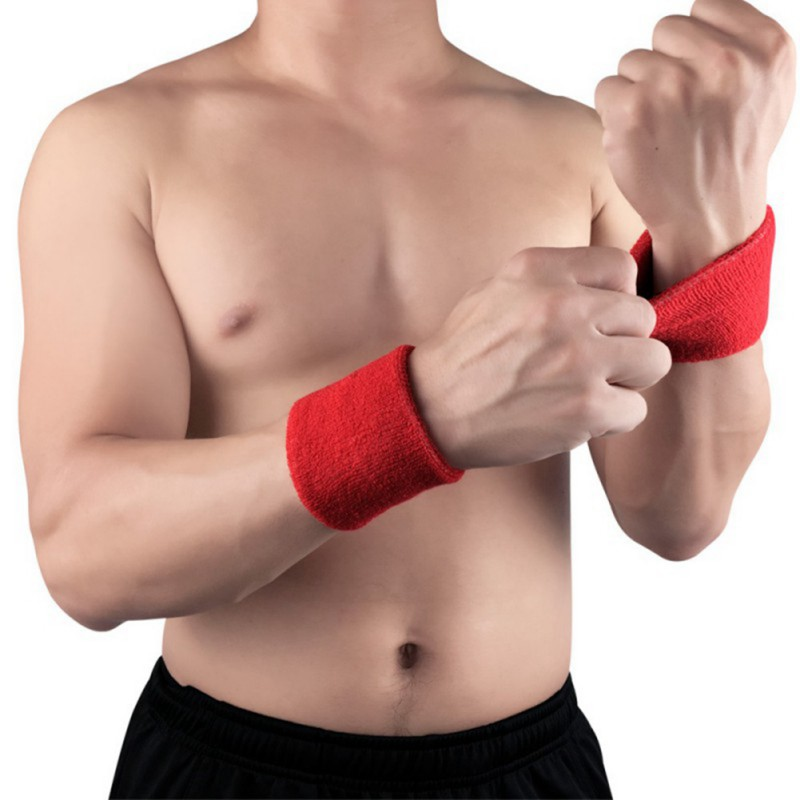 Men and Women Wristbands Sport Sweatband Hand Band Sweat Wrist Support  Brace Wraps Guards For Gym Volleyball Basketball Solid|Wrist Support| -  AliExpress