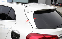 Yimaautotrims Rear Window Wing Side Lid Cover Trim 2 Pcs Exterior For Mercedes Benz GLA 220 260 X156 2015 2018 Stainless Steel