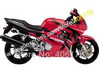 Hot Sales,For Honda Red Black CBR600F3 CBR600RR CBR600 97 98 1997 1998 CBR 600 F3 600F3 COOL Fairing (Injection molding)