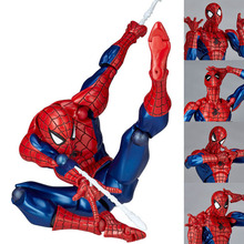 HOT 16cm Spiderman Spider-Man Moveable action figure Toy Collection Yamaguchi style Anime children boy gift kid electronic pet