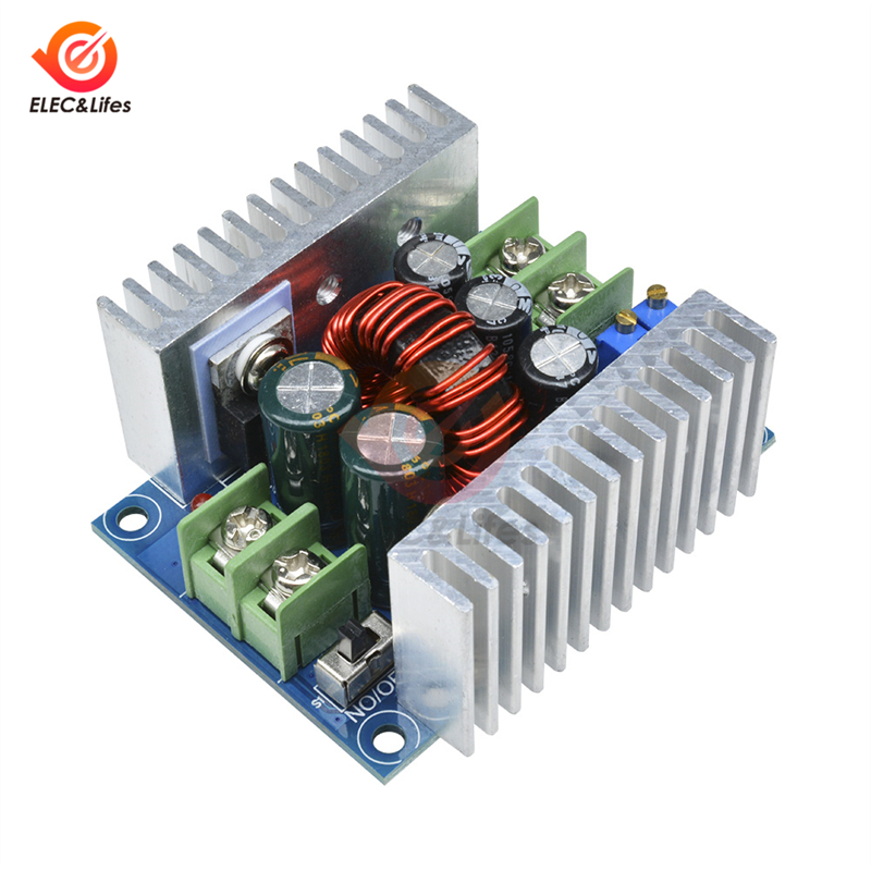 DC-DC 20A 300W Buck Converter Module Step Down Board Constant Current LED Driver module Voltage Regulator Electrolytic CapacitorDC-DC 20A 300W Buck Converter Module Step Down Board Constant Current LED Driver module Voltage Regulator Electrolytic Capacitor