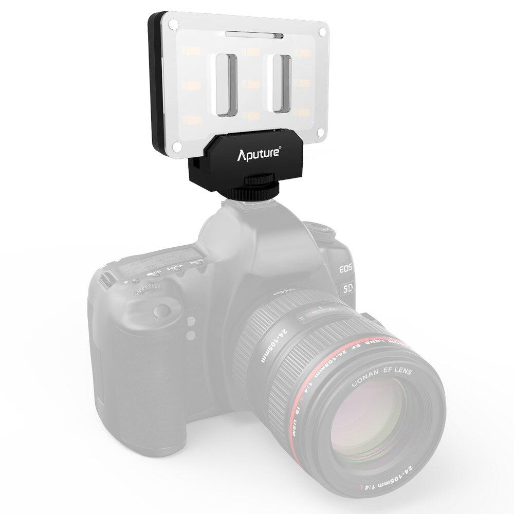 Aputure AL-M9 poche LED vidéo lumière sur caméra Studio lumière Rechargeable Photo lumière CRI/TLCI 95 pour la réalisation de films de mariage Canon - 3