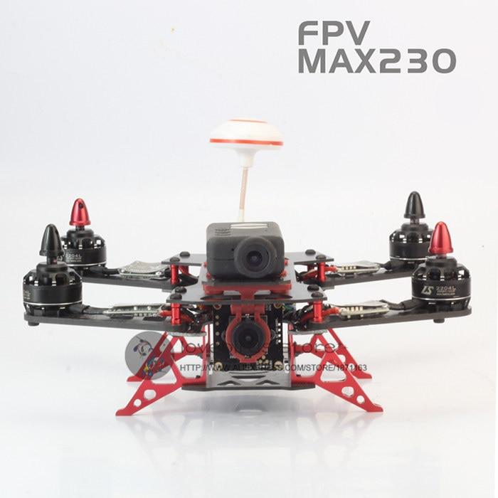 DIY mini drone Cross Racing quadcopter fibra de carbono puro marco ...