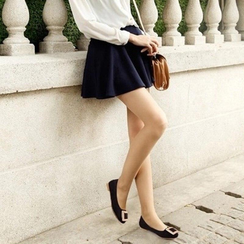Sauvage Noir Métal Avec De Femmes Automne bleu Tête Et Printemps rouge Royal Chaussures Plat Décoratif Ronde Noir Plates 8SEz8xwqf