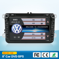 2 DIN Car DVD GPS Radio stereo para VW 4 golf 5 6 polo tiguan touran passat