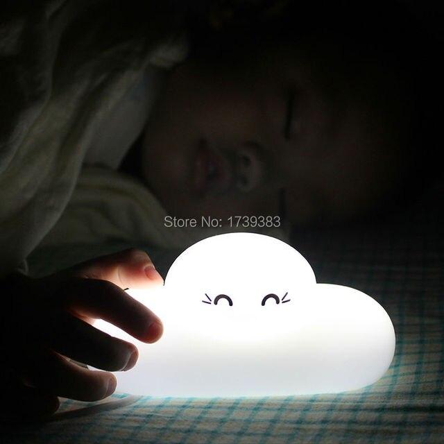 10 stukpartij waterdicht wit usb oplaadbare draagbare 3d nachtlampje van nijntje droom hanger licht
