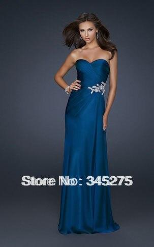 Popular Midnight Blue Prom Dresses-Buy Cheap Midnight Blue Prom ...
