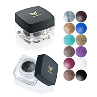 24 Hours Long Lasting Eyeliner Waterproof Cream Deep Black Color Make Up 12 Colors Eyeliner Makeup