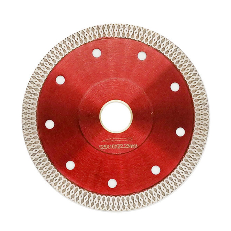 125Mm Wave Diamond Saw Blade For Ceramic Tile Dry Cutting Aggressive Disc Marble Granite Stone Saw Blade
