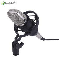 High Quality Professional BM800 Studio Microphone Speakers 3 5mm Wired Condenser Sound Recording Shock Mount Radio