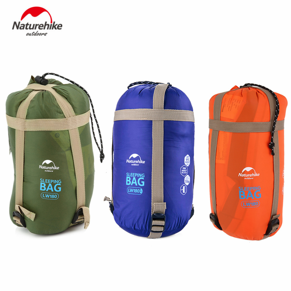 Naturehike Ultralight Multifuntion Portable Outdoor Envelope Sleeping Bag Travel Bag Hiking Camping Equipment 700g naturehike envelope shaped sleeping bag cotton portable outdoor travel camping hiking sleeping bag for adult with carry bag