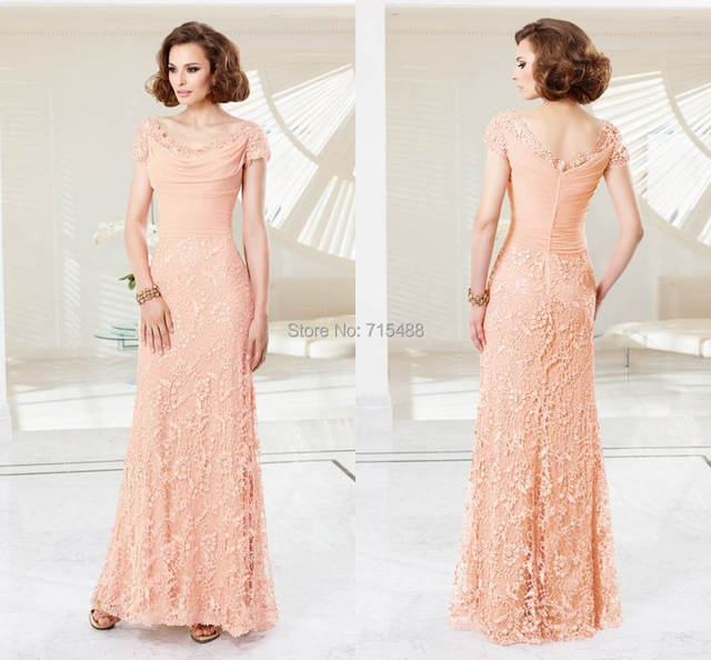 3d3c3252389 Evening Gowns Short Sleeve Vintage Ebay Floor Length Fat Women Bohemian  Style Elegant Groom Mother Of Bride Dresses For Wedding