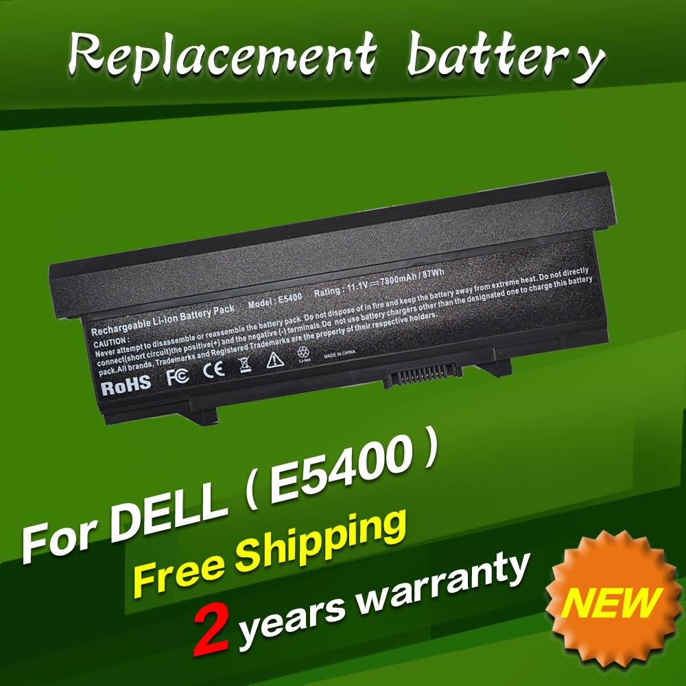 JIGU 11.1V 9 cells Laptop Battery For Dell Latitude E5410 E5510 E5400 E5500 KM742 451-10616 KM769 312-0769 312-0762 5200mah laptop battery for dell latitude