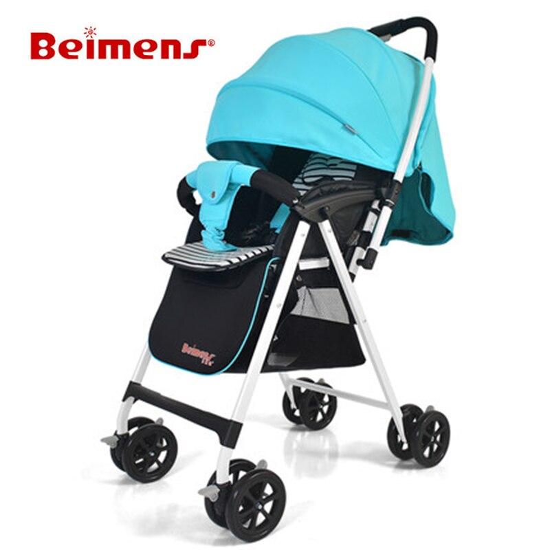New Design Baby Strollers  Beimens Cars  Super Light Prams  Anti-ultraviolet trolley baby design baby design коляска 2 в 1 lupo comfort new 10 black черная