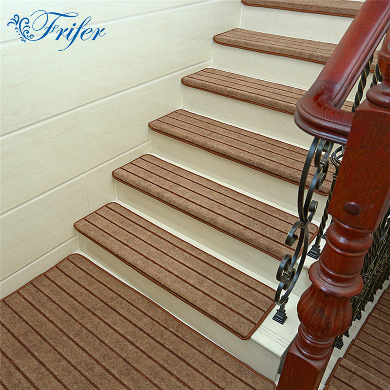 5pcs Set High Quality Stair Carpet Sets Anti Slip Stairs