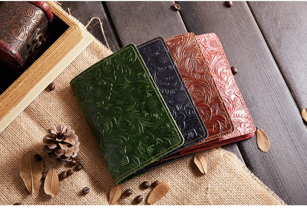 K018-- Luxury Genuine Leather Passport Holder Wallet_01 (2)