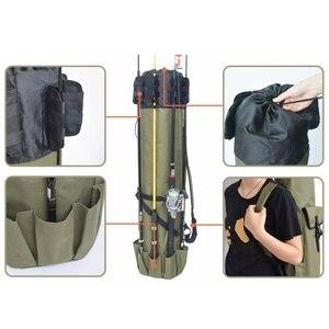 Image 5 - 낚싯대 가방 캐리어 낚시 릴 주최자 낚시 및 여행 케이스 릴 주최자 폴 스토리지 가방에 대 한 폴 스토리지 가방