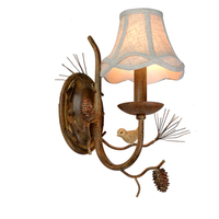 American country setting wall lamp stair head of a bed corridor individual character restore ancient ways birdie wall lamp