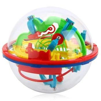 3D Магия Интеллект Лабиринт Мяч Игрушки Детские Дети Баланс Логические Способности Игра-Головоломка Учебные Инструменты Подарок 929A