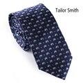 Smith a medida de Diseño Paisley Corbata Para Hombre Flaco Corbata Corbata Corbata Formal de Negocios Vestido de la Manera Delgada Ocasional