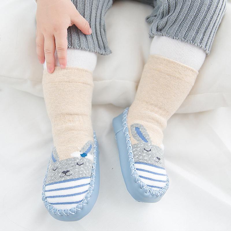 Newborn Cartoon Baby Socks Boys Girls Socks Toddler Socks