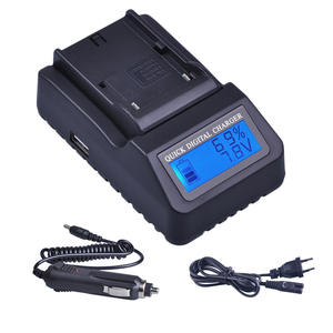 Universal Charger Battery FM50 Faster F970 F750 Sony NP F960 3X for Np-f970/Np-f960/Fm50/..