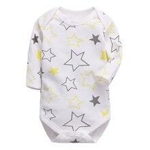 Babies Boys Clothing Bodysuit Newborn Baby Girls Long Sleeve Body 3-24 Months In