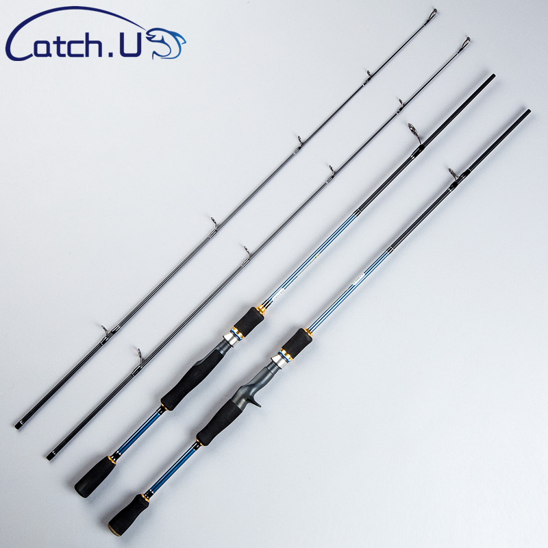 Catch.U Fishing Rod Spinning Rods Casting, 1.1mm Spinning Fishing Casting Rod Fast Action