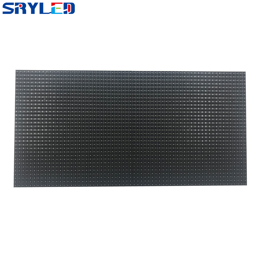 Indoor LED Display P5 LED Sign 64x32 LED Matrix RGB Black SMD LED 5mm Panel