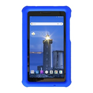 Image 4 - MingShore For Lenovo Tab E7 2018 kids Silicone Shockproof Soft Cover Case For Lenovo Tab E7 7.0 inch TB 7104F Tablet Rugged Case