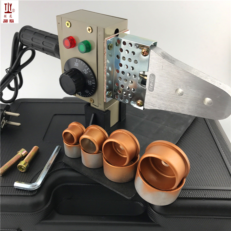 1 Set Plumbing Tools 220V 600W Temperature Controled Plastic Pipes Tube Welding Machine Plastic Wlelder PPR Heating Element