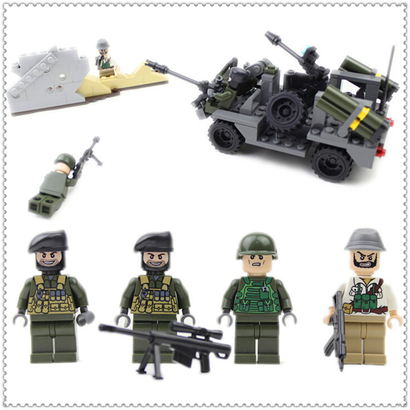 GUDI 600003A 183Pcs Military Tank Series Dhole Tank Building Block DIY Educational Toys For Children Compatible Legoe ...