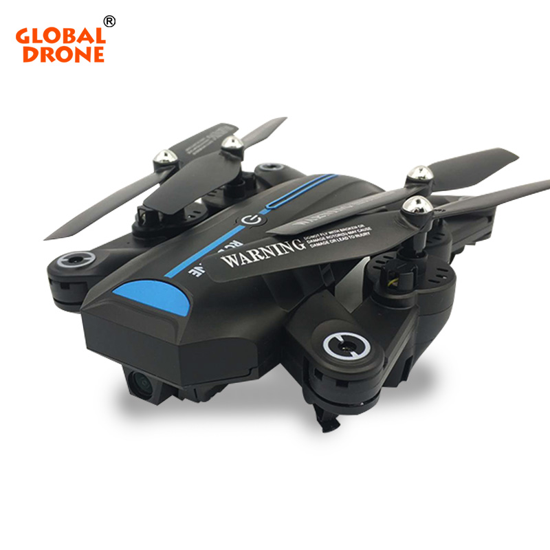 Global Drone A6W Foldable Selfie Dron FPV Helicopter Wifi Quadrocopter with Wide Angle Camera HD Toys for Boys VS XS809HW drone a6w wifi ffv selfie drone foldable quadcopter with hd camera rc quadrocopter vs xs809hw jy018