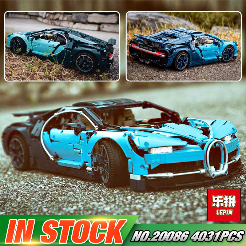 DHL Lepin 20086 Technic Series Toys Compatible with 42083 Blue Racing Car Set Building Blocks Bricks Kids Toys Car Model Gifts