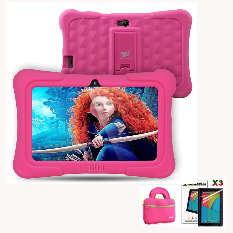 DragonTouch Y88X Plus 7 inch Kids Tablet pcs Quad Core Android 5 1 Tablet bag Screen
