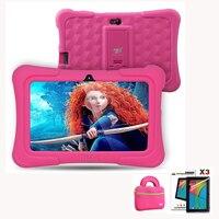 Ejderha Dokunmatik Y88X Artı 7 inç Çocuk Tablet pcs Quad Core Android 5.1 + Tablet çantası + Ekran Koruyucu için En Iyi hediyeler çocuk