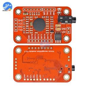 Image 5 - 1 مجموعة وحدة التعرف على الصوت V3 التعرف على السرعة متوافق مع Ard Arduino دعم 80 نوعا من الصوت مجلس الصوت
