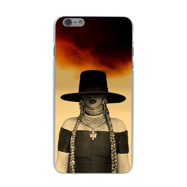Beyonce Hard Case Transparent for iPhone 7 7 Plus 6 6s Plus 5 5S SE 5C 4 4S