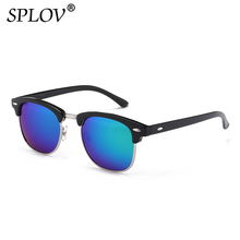2018 New Fashion  Semi Rimless Polarized Sunglasses Men Women Brand Designer Half Frame Sun Glasses Classic Oculos De Sol UV400