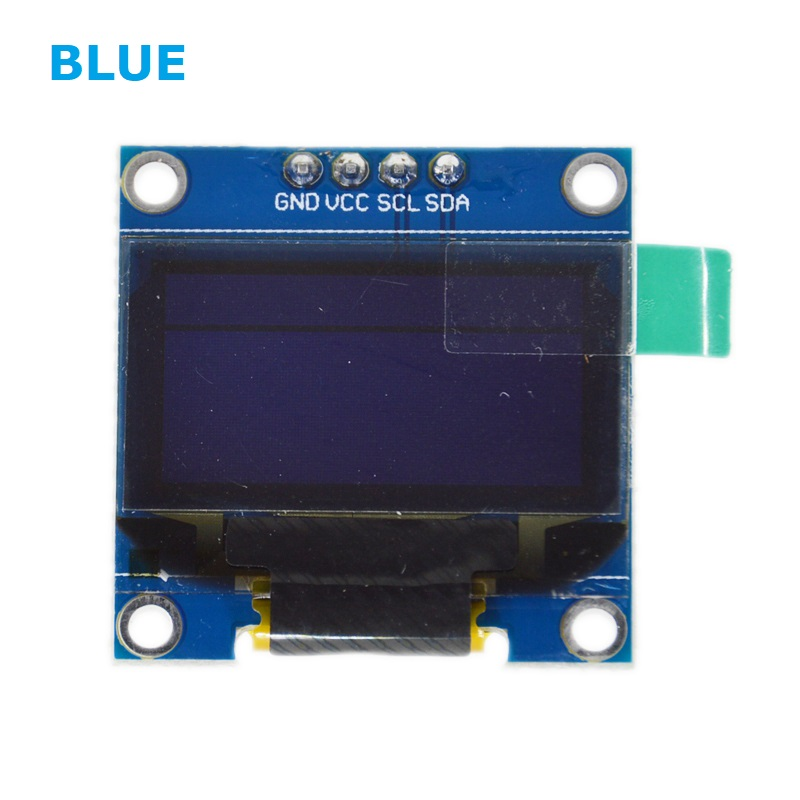 0.96 inch blue OLED LCD LED Display Module IIC Communicate 0.96 128X64 compatible arduino