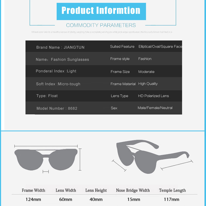 a48b0028d1e JIANGTUN New Float Sunglasses Male Sun Glasses Driving Fishing Floating  Water Glasses HD Polarized Lens Water Sports Masculino-in Sunglasses from  Apparel ...