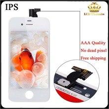 Aaa calidad lcd original para iphone 4s lcd pantalla para iphone 5 5c 5s lcd con pantalla táctil digitalizador asamblea