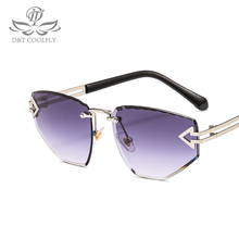 D&T 2019 New Fashion Sunglasses Women Men Vintage Colorful Lens Luxury Brand Des