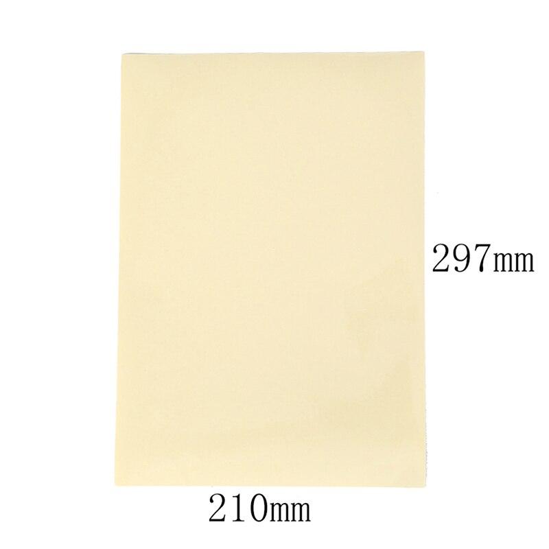 10 листов А4, прозрачная самоклеющаяся виниловая пленка, наклейка для лазерного принтера, 21X29,7 см