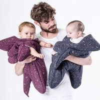 Baby Blanket Warm Baby Sleeping Bag Starfish Flannel Swaddle For New Born Baby Blankets Newborn Thicken Sleep Sacks Winter Girl