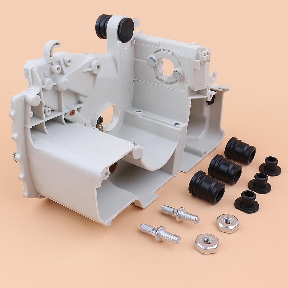 Tools : Crankcase Engine Housing Annular AV Buffer Plug Bar Nuts Studs Kit Fit STIHL MS170 MS180 017 018 MS 180 Gasoline Chainsaw Parts