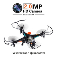 Aviax F2C Quadcopter 6 Axis 2 4GHz RC Helicopter Drone With 3D Flip Headless Mode 2MP